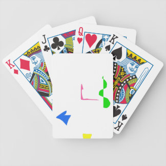 Sparse Bicycle Playing Cards
