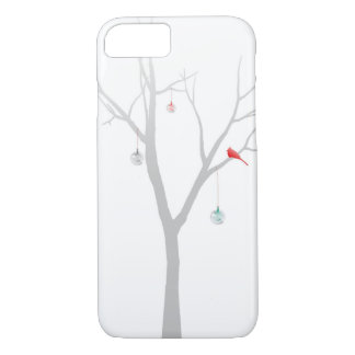 Sparse Christmas Tree iPhone 7 Case