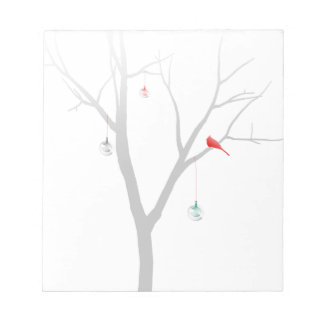 Sparse Christmas Tree Notepad