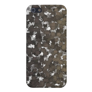 Sparse Leaves Camo Case For iPhone SE/5/5s