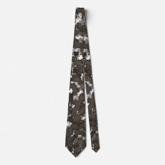 Sparse Leaves Camo Tie