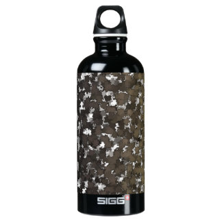 Sparse Leaves Camo Water Bottle