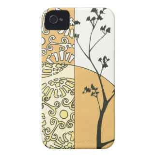 Sparse Tree Silhouette by Megan Meagher iPhone4 Case