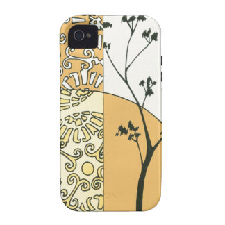 Sparse Tree Silhouette by Megan Meagher iPhone 4 Covers