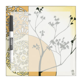 Sparse Tree Silhouette by Megan Meagher Dry-Erase Board