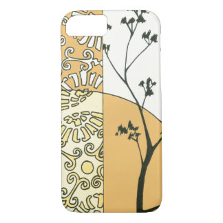 Sparse Tree Silhouette by Megan Meagher iPhone 7 Case