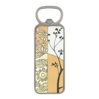 Sparse Tree Silhouette by Megan Meagher Magnetic Bottle Opener