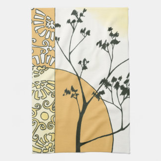 Sparse Tree Silhouette by Megan Meagher Towel