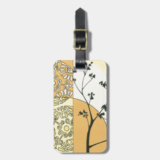 Sparse Tree Silhouette by Megan Meagher Luggage Tag