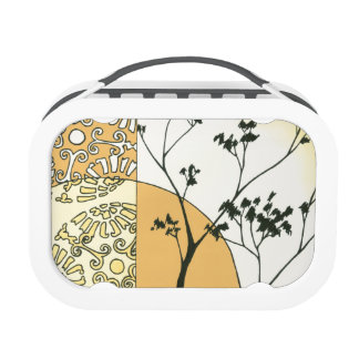 Sparse Tree Silhouette by Megan Meagher Yubo Lunch Box