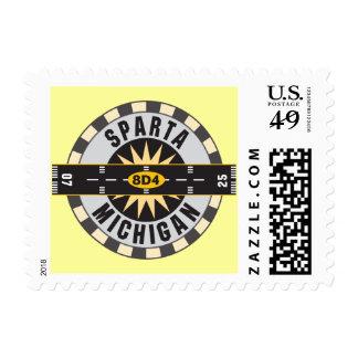 Sparta, aeropuerto del MI 8D4 Timbres Postales