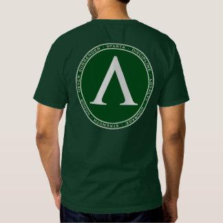 Sparta Green & White Lambda Seal Shirt