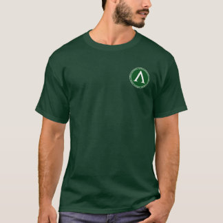 Sparta Green & White Lambda Seal Shirt