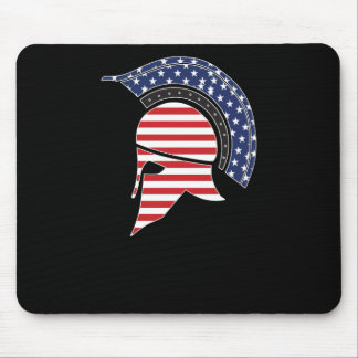 Sparta Mask Mouse Pad