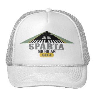 Sparta MI - Pista del aeropuerto Gorro De Camionero