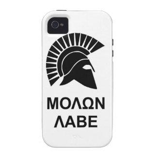 Sparta molon labe iPhone 4 cover