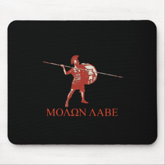 Sparta spartan red mouse pad