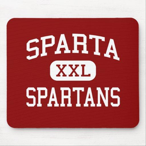 Sparta - Spartans - centro - Sparta Wisconsin Tapete De Raton