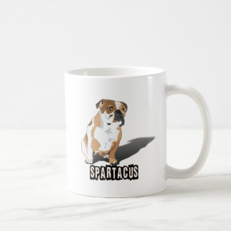 Spartacus Bulldog Ice loves Coco Coffee Mug