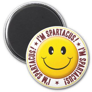 Spartacus Smiley 2 Inch Round Magnet