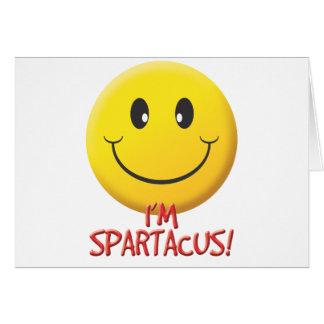 Spartacus Tarjeta De Felicitación