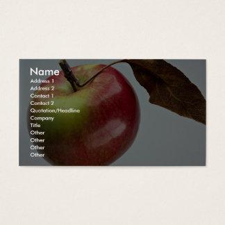 Spartan apple business card