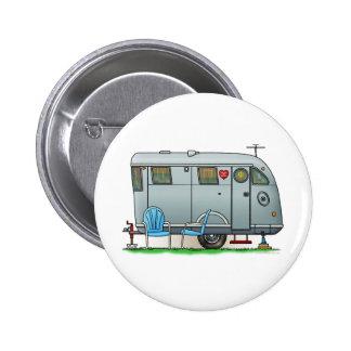 Spartan Camper Trailer RV Pinback Button