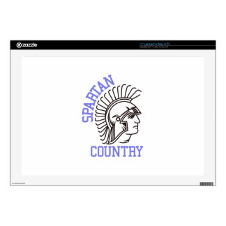 Spartan Country Decals For Laptops