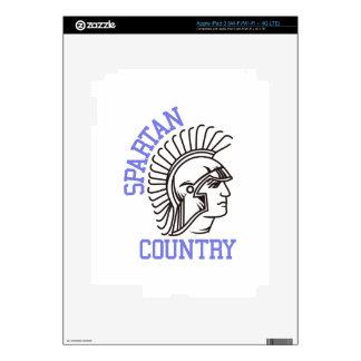 Spartan Country iPad 3 Skins