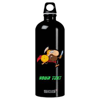 Spartan Gladiator; Sleek Aluminum Water Bottle
