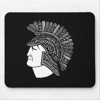 Spartan Head Mouse Pad