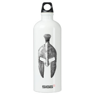 Spartan Helm Aluminum Water Bottle