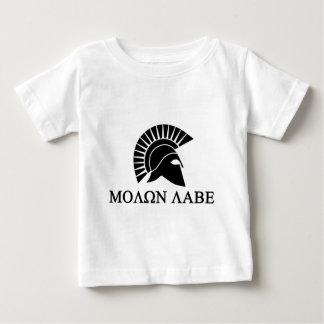 Spartan Helmet Molon Labe Tshirt