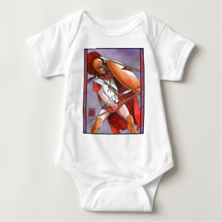 Spartan Hoplite Baby Bodysuit