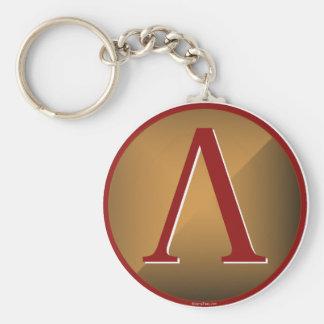 Spartan Lambda Shield Key Chains