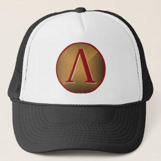Spartan Lambda Shield Trucker Hat