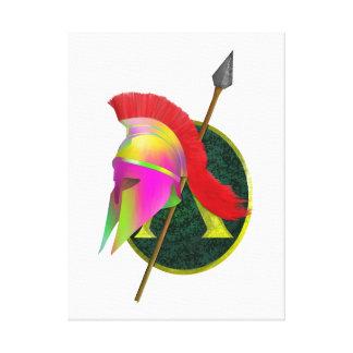 Spartan Or Greek Warrior Canvas Print