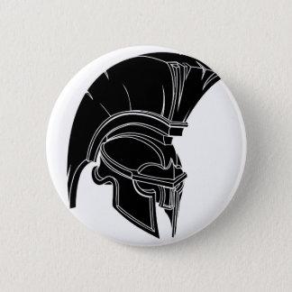 Spartan or trojan helmet button
