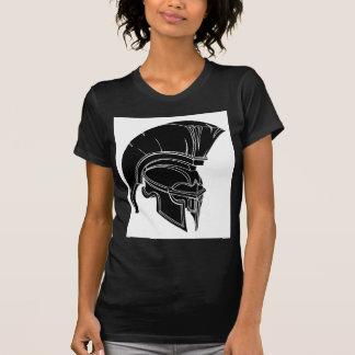 Spartan or trojan helmet shirts