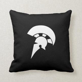 Spartan Pictogram Throw Pillow
