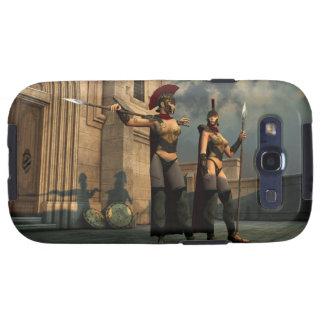 Spartan Sentries for the Galaxy S Case Samsung Galaxy S3 Cases