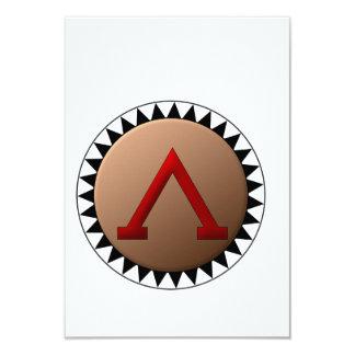 Spartan Shield Invitations