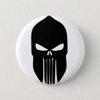 Spartan Skull Pinback Button