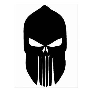 Spartan Skull Postcard
