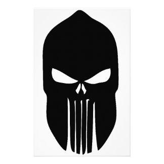 Spartan Skull Stationery