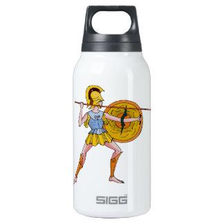Spartan warrior insulated water bottle