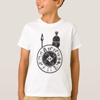 Spartan with Shield T-Shirt
