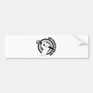 Spartan Youth Radio's Iconic Logo Bumper Sticker