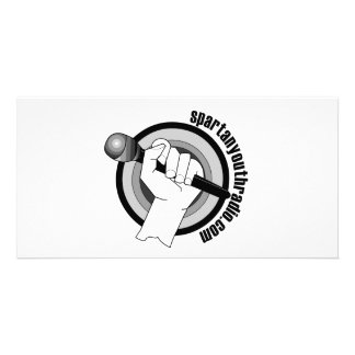 Spartan Youth Radio's Iconic Logo Card