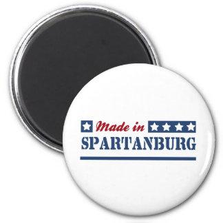 Spartanburg SC.png Imán Redondo 5 Cm